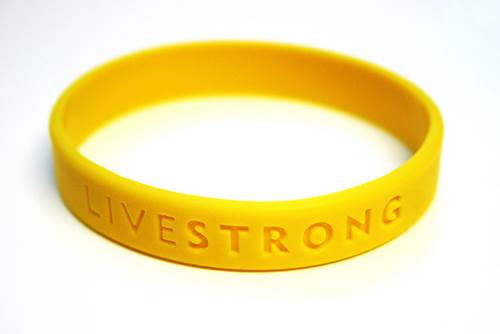 Live Strong Wrist Band