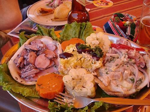 Huge Plate o' Ceviche