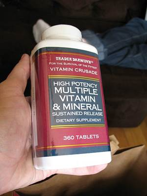 Trader Darwin's High Potency Multi-Vitamin