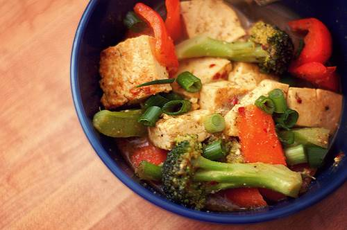 Soy Tofu with Vegetables