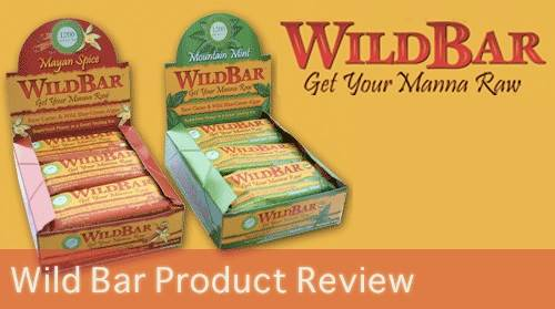 WildBar Raw Chocolate Bars