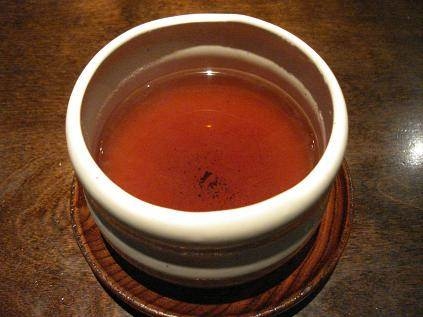 A Cup of Black Pu'erh Tea