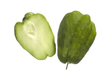 Fruit of Chayote Plant (Vegetable Pear)
