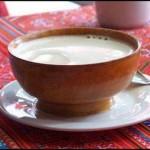 Close-Up on Yak Butter Tea
