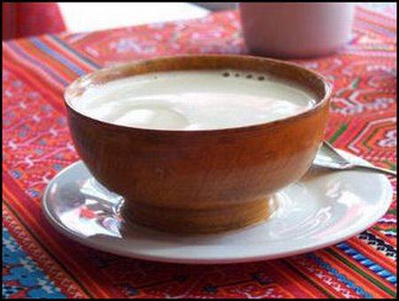 Yak Butter Tea in a Cup