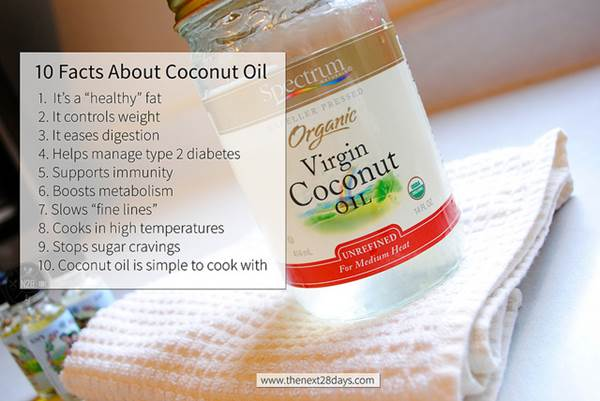 10 Facts About Coconut Oil Image