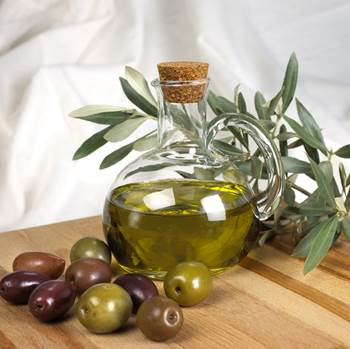 Olive Leaf Extract in a Glass Jar