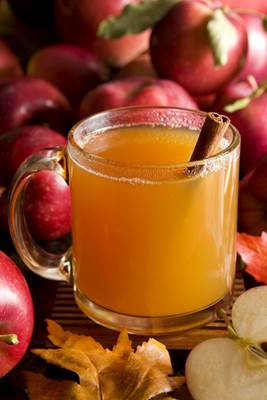 Apple Cider Vinegar in a Glass Mug