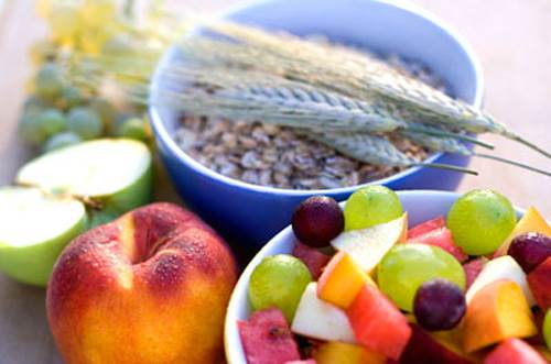 Fiber-Rich Foods like Fruits and Grains