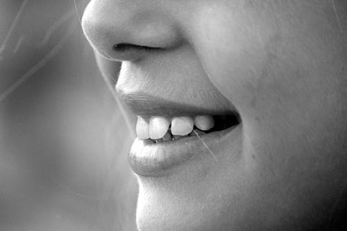 Close-Up of a Girl's Smile