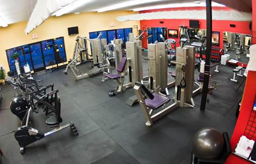 Fitness Equipment inside a Gym