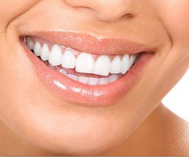 Close-Up of a Girl's Beautiful Smile and Spakling Clean White Teeth