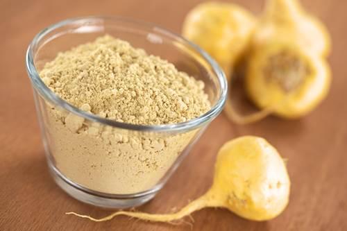 Maca Roots and Powdered Maca