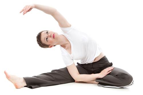Girl Performing Yoga Exercise for Fitness