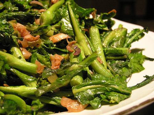 Rapini and Vegetables