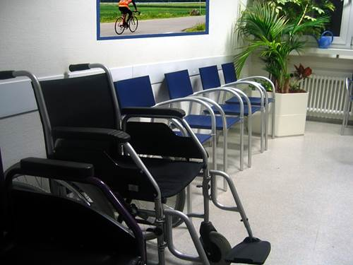 Waiting Area of a Doctor's Office