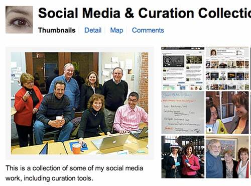 Social Media Curation Collection