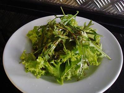 A Healthy Salad of Leafy Greens